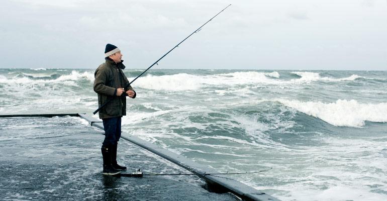 Angeln an der Nord- und Ostsee in Dänemark