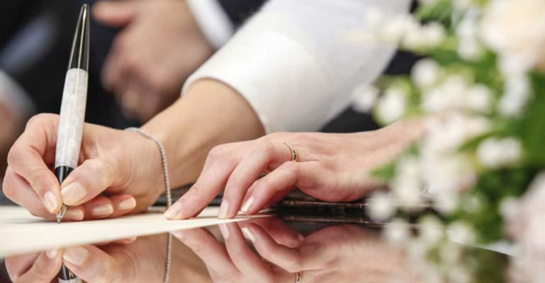 Heiraten in Dänemark - Dokumente