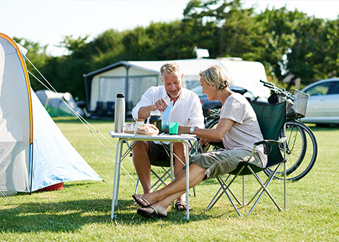 Checkliste für deinen Camping-Urlaub
