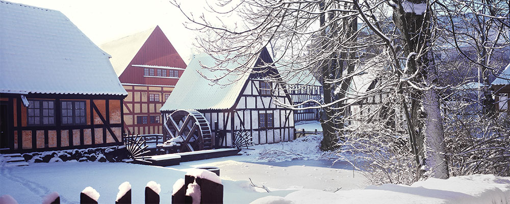 Dänemark im Winter