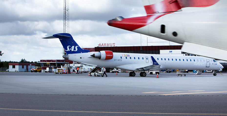 Aarhus Flughafen