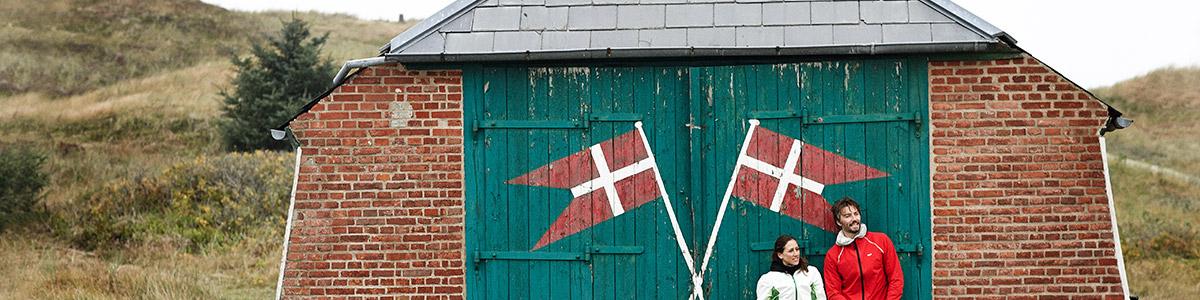 Holmsland Klit in Däneamrk
