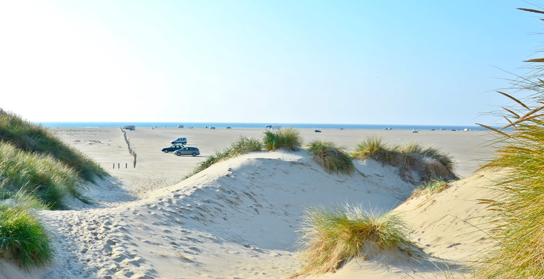 Lakolk Strand in Dänemark
