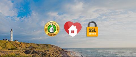 Dänemark Trust Logos