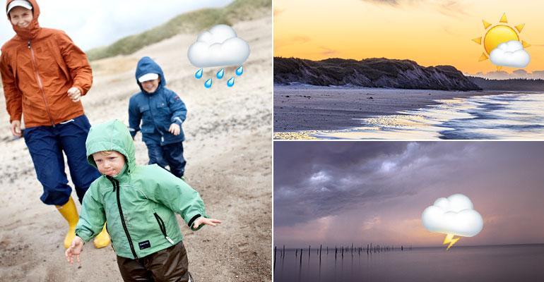 Wetter in Dänemark